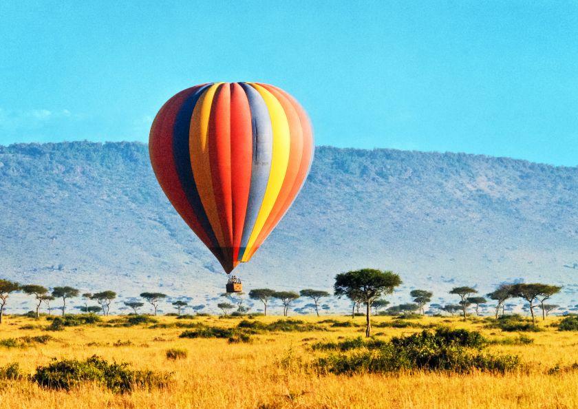 Hot Air Balloon Safaris Safaris Amp Holidays In Kenya By